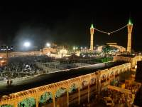 Night View Of Darbar Hazrat Data Ganj Bakhsh - Long Camera View.jpg